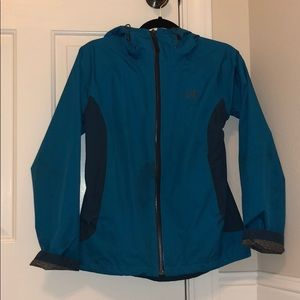 North face hooded rain jacket